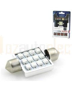 Aerpro SMD98W 12 SMD LED 36mm Festoon White
