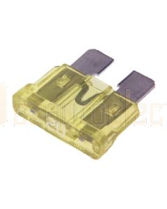 Narva 52820BL Standard ATS Blade Fuse - 20Amp (Blister Pack of 5)
