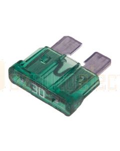 Narva 52830BL Standard ATS Blade Fuse - 30Amp (Blister Pack of 5)