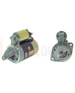 STR HYUNDAI EXCEL MANUAL NEW 12V 8TH  Hyundai, Mitsubishi  4G32, 4G37  Also see 70-6239, For 10mm o/mesh use 70-6104   Specifications Voltage 	12V kW 	0.9kW Teeth 	8TH Rotation 	CW Mount Hole Diameter 	2 x M10 Flange Diameter 	77 Pinion At Rest 	18 Pinion
