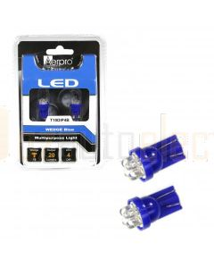 Aerpro T10DIP4B 4 X Dip LED Multipurpose Light - Blue