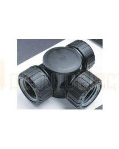 Quikcrimp Harnessflex Complete T Piece 3 x 16mm