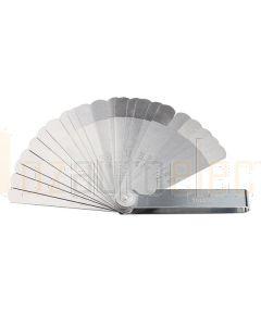 """Toledo 301156 Feeler Gauge - Dual Straight 22 Blade Metric/Imperial (0.102mm (0.004"""") – 0.686mm (0.027""""))"""