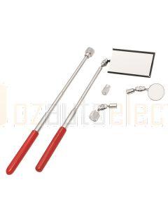 Toledo 301336 Inspection Mirror & Pick-Up Tool Set Telescopic