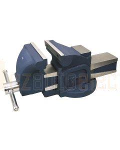 Toledo 301862 Bench Vice Fixed Base Straight Cast Iron - 100mm