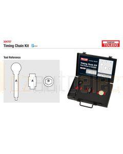 Toledo 304707 Timing Tool Kit - Ford