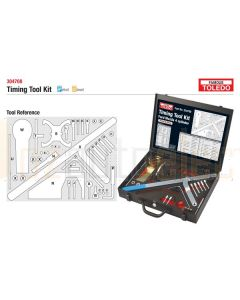 Toledo 304708 Timing Tool Kit - Ford and Mazda