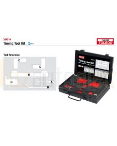 Toledo 304710 Timing Tool Kit - Holden (GM)