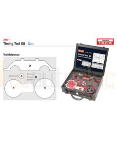 Toledo 304711 Timing Tool Kit - Holden (GM)