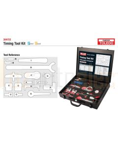 Toledo 304722 Timing Tool Kit - Volkswagen