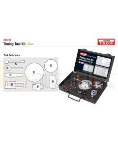 Toledo 304735 Timing Tool Kit - Audi & Volkswagen