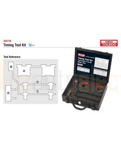Toledo 304739 Timing Tool Kit - Ford