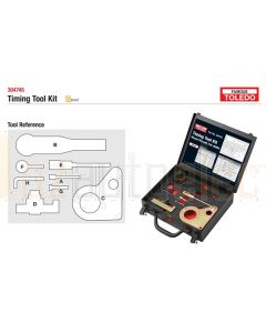 Toledo 304745 Timing Tool Kit - Nissan & Renault