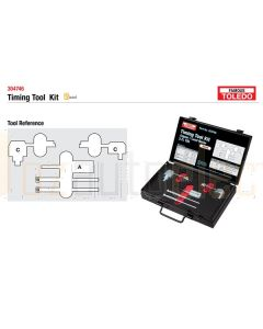 Toledo 304746 Timing Tool Kit - Landrover & Jaguar