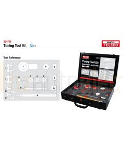 Toledo 304750 Timing Tool Kit - Audi & Volkswagen