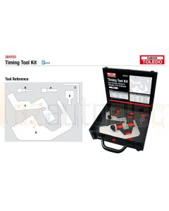 Toledo 304753 Timing Tool Kit - Ford