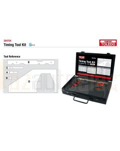Toledo 304754 Timing Tool Kit - Ford & Mazda