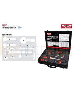 Toledo 304757 Timing Tool Kit - Audi & Volkswagen