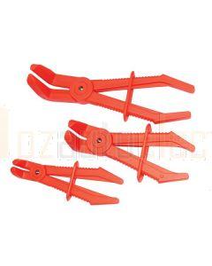 Toledo 321029 Brake Line/Hose Pinching Plier Set Angled Tip 90 Deg