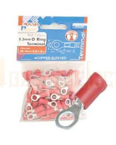 Aerpro TR53R 5.3Mm O Ring Terminal Red