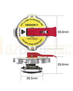 Tridon CA1390L Recovery Radiator Cap - Safety Lever