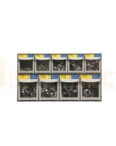 Tridon CMHAS200 Modular Drawer Merchandiser - All Stainless Steel Perforated
