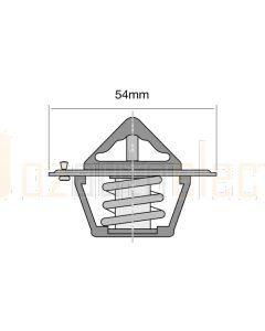 Tridon ET1-192B/10 89°C EKKO Thermostat - 54mm Dia (Bulk Pack of 10)