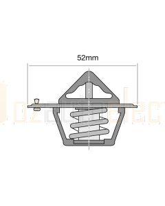 Tridon ET240-180B/10 82°C EKKO Thermostat - 52mm Dia (Bulk Pack of 10)