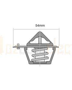 Tridon ET241-180B/10 82°C EKKO Thermostat - 54mm (Bulk Pack of 10)