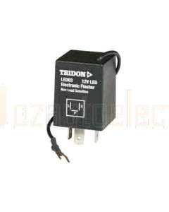 Tridon LED03 3 LED Electronic Flasher Relay (12v)