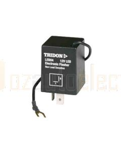 Tridon LED04 2 LED Electronic Flasher Relay (12v)