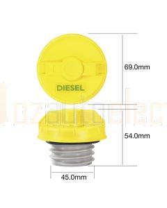 Tridon TFNL234D Fuel Cap Diesel (Non Locking)