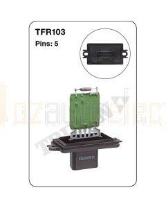 Tridon TFR103 5 Pin Heater Fan Resistor