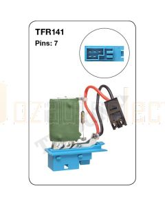 Tridon TFR141 7 Pin Heater Fan Resistor