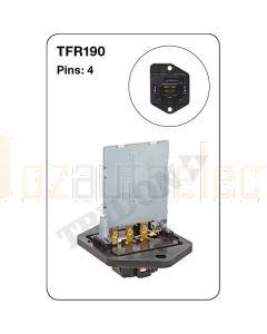 Tridon TFR190 4 Pin Heater Fan Resistor (OEM Product)