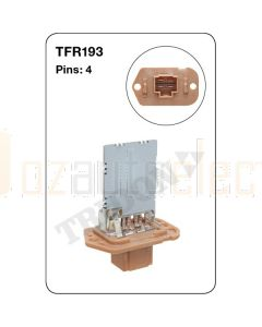 Tridon TFR193 4 Pin Heater Fan Resistor (OEM Product)