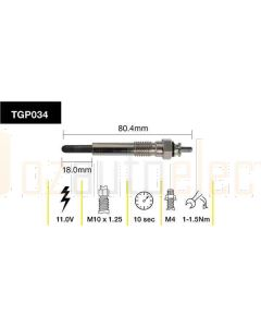 Tridon TGP034 Glow Plug (11.0V)