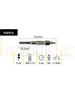Tridon TGP072 Glow Plug (11.0V)