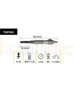 Tridon TGP080 Glow Plug (11.0V)