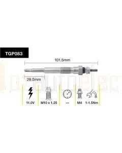 Tridon TGP083 Glow Plug (11.0V)
