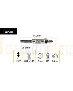 Tridon TGP085 Glow Plug (11.0V)