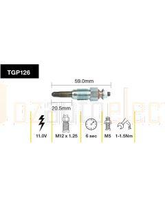 Tridon TGP126 Glow Plug (11V)