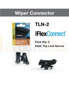 Tridon TLN-2 Wiper Connector Flexconnect Top Lock Narrow Pair (2)