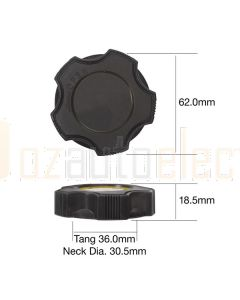 Tridon TOC504 Oil Cap - 	Metal Bayonet
