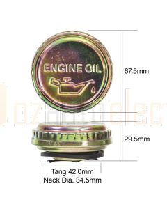 Tridon TOC507 Oil Cap - Metal Bayonet