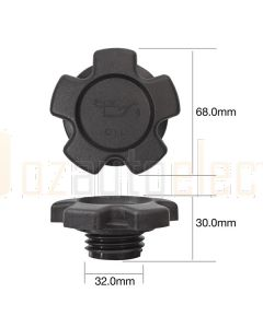 Tridon TOC512 Oil Cap - Plastic Screw (Fine Thread)