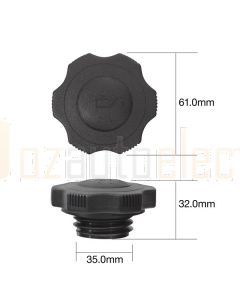 Tridon TOC513 Oil Cap - Plastic Screw (Course Thread)