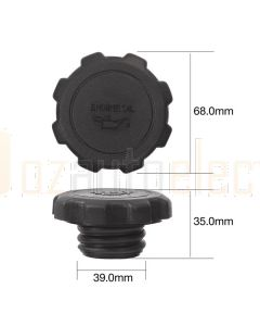 Tridon TOC517 Oil Cap - Plastic Screw (Coarse Thread)
