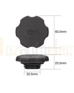 Tridon TOC522 Oil Cap - Plastic Screw (Fine Thread)
