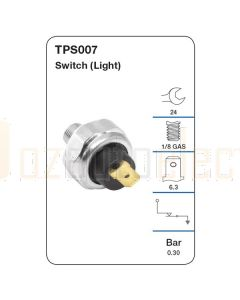 Tridon TPS007 Oil Pressure Switch (Light)